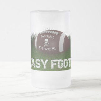 Fantasy Football Fever Frosted Glass Beer Mug