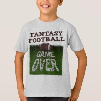 Fantasy Football Game Over Kids T-Shirt