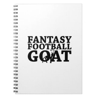 Fantasy Football Goa For Champions Notebook