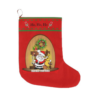Fantasy Football Large Christmas Stocking