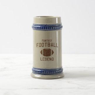 Fantasy Football Legend Beer Stein