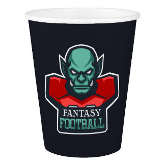 Fantasy Football Paper Cup