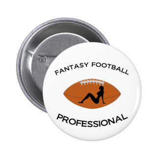 Fantasy Football Professional 2 Inch Round Button