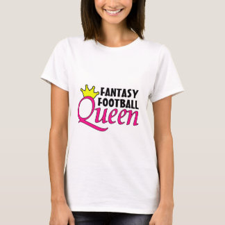Fantasy Football Queen for White Shirt