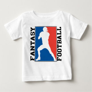 Fantasy Football, red white and blue Logo Baby T-Shirt