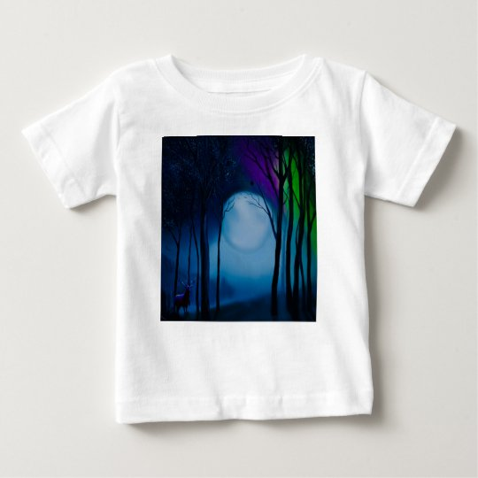 Fantasy forest art baby T-Shirt