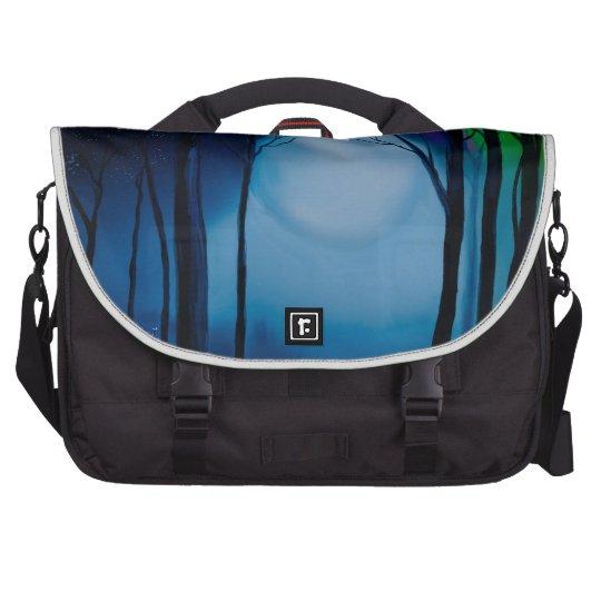Fantasy forest art bags for laptop