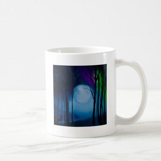 Fantasy forest art coffee mug