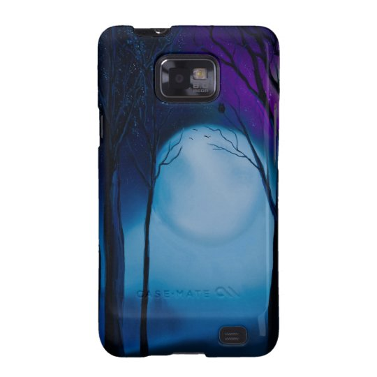 Fantasy forest art galaxy s2 covers