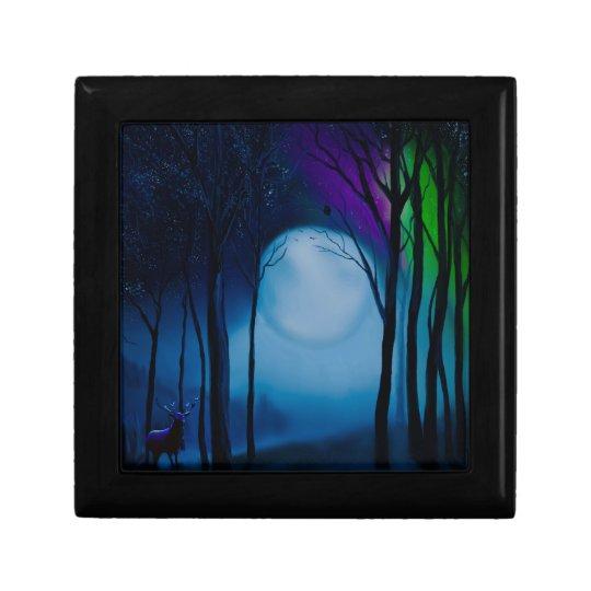 Fantasy forest art gift box