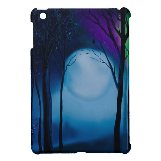 Fantasy forest art iPad mini cases