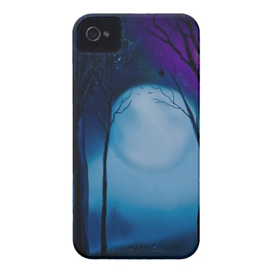 Fantasy forest art iPhone 4 Case-Mate cases