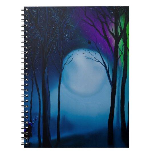 Fantasy forest art notebooks