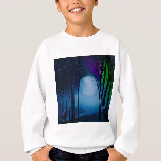 Fantasy forest art sweatshirt