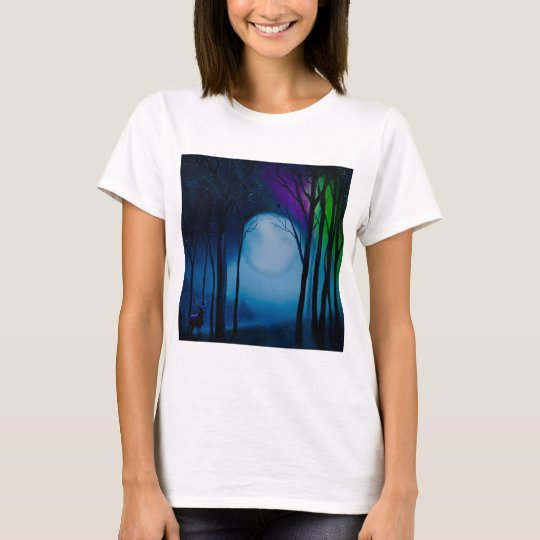 Fantasy forest art T-Shirt