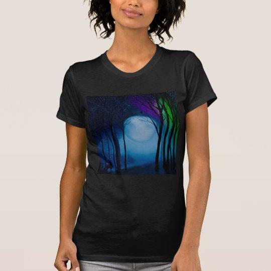 Fantasy forest art T-Shirt
