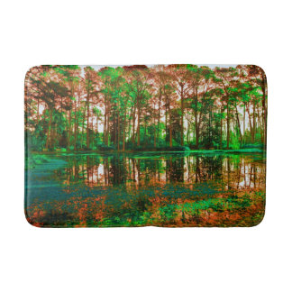 Fantasy Forest by Shirley Taylor Bath Mat