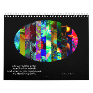 Fantasy Fractal Calendar 2014