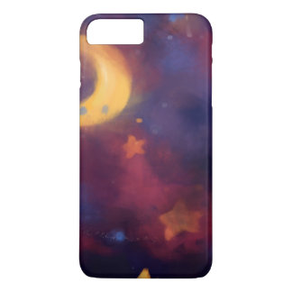 Fantasy Galaxy Moon Case-Mate iPhone Case