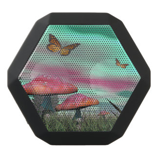 Fantasy garden - 3D render Black Bluetooth Speaker