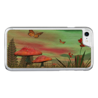 Fantasy garden - 3D render Carved iPhone 8/7 Case