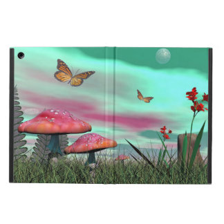 Fantasy garden - 3D render iPad Air Cover