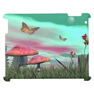 Fantasy garden - 3D render iPad Cases