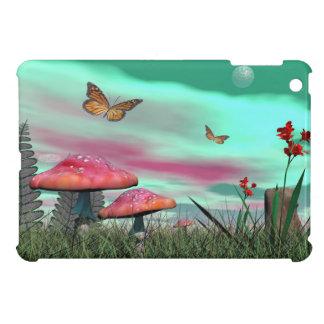 Fantasy garden - 3D render iPad Mini Cover