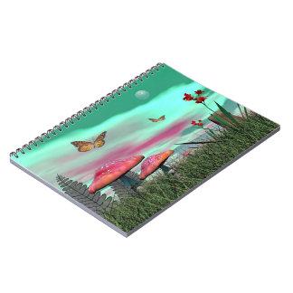 Fantasy garden - 3D render Notebook