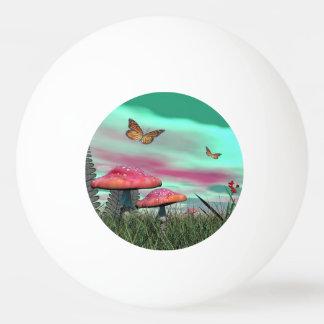 Fantasy garden - 3D render Ping Pong Ball
