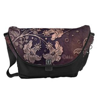 Fantasy Garden Courier Bag