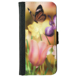 Fantasy garden iPhone and galaxy wallet cases