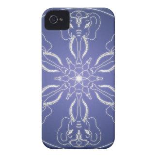 Fantasy Goth Mandala elephant Crystal Ball iPhone 4 Case-Mate Case