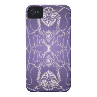 Fantasy Goth Mandala Griffon Crystal Ball iPhone 4 Case-Mate Case