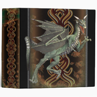 "Fantasy Green Dragon 2"" Avery Binder"