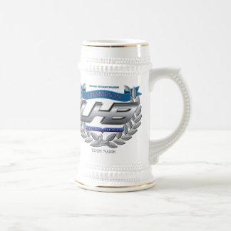 Fantasy Hockey Trophy Beer Stein