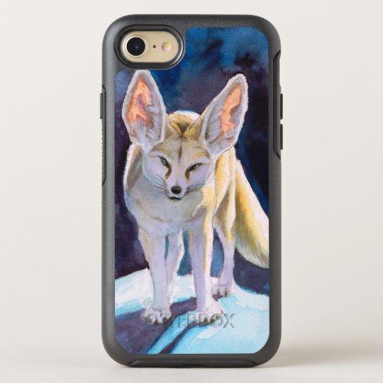 Fantasy Ice Fennec Fox OtterBox Symmetry iPhone 7 Case
