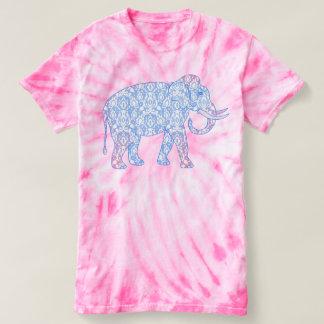 Fantasy Indian Elephant Damask T-shirt