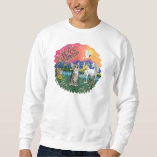 Fantasy Land (ff) - Kitten (silver tabby) Sweatshirt