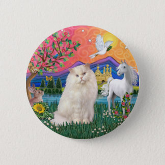 Fantasy Land (ff) - Persian (white) 2 Inch Round Button