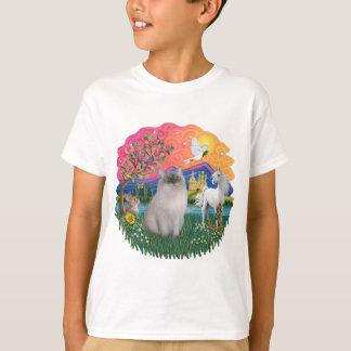 Fantasy Land (ff)- Ragdoll cat (blue seal point) T-Shirt