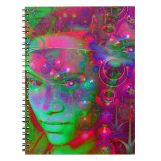 Fantasy Land Spiral Notebooks