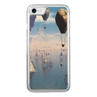 Fantasy landscape carved iPhone 7 case