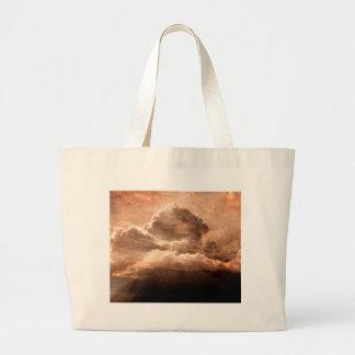 Fantasy Landscape Large Tote Bag