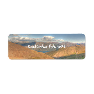 Fantasy Landscape Return Address Label