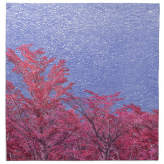 Fantasy Landscape Theme Poster Napkin