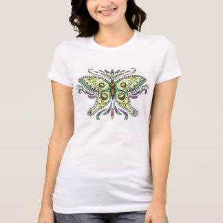 Fantasy Luna moth butterfly t-shirt