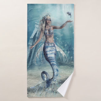 Fantasy Mermaid Bath Towel