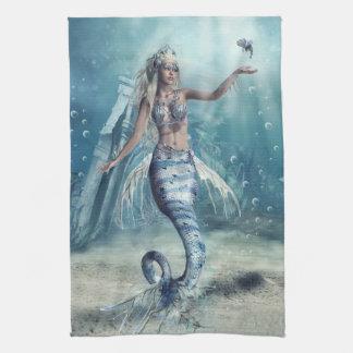 Fantasy Mermaid Kitchen Towel