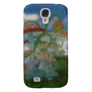 Fantasy mushrooms scenic iphone 3 case